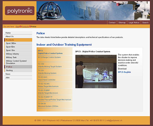 Polytronic Website